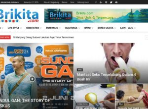 Brikita News Website